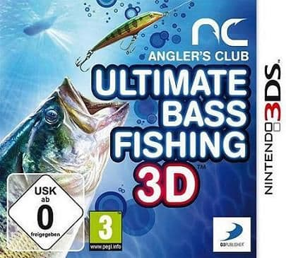 Anglers Club Ultimate Bass Fishing 3DS Game